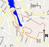 100px village of monroe historic district map