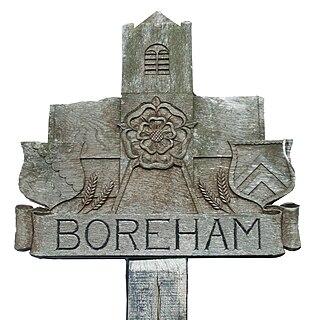 Boreham Village in Essex, England