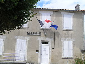 Villejoubert - Town hall