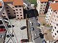 Vista aérea da quadra e a entrada de veículos do Conjunto Residencial Jardim dos Amarais I. - panoramio.jpg