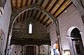 Vista cap als peus, església del Salvador de Sagunt.JPG
