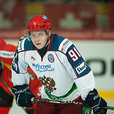 Vladimir Tarasenko - Switzerland vs. Russia, 8th April 2011 (1).jpg