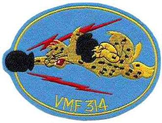 VMFA-314 - The squadron's World War II logo.