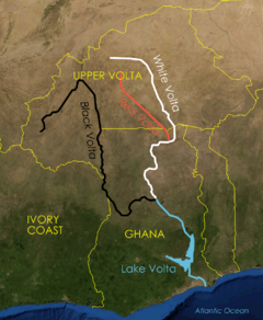 Lake Volta Africa Map.Lake Volta Wikipedia
