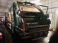 """Volvo FE 280 compacting waste collection truck (søppelbil for avfallshenting) for BIR (""""Bergensområdets Interkommunale Renovasjonsselskap"""") on car ferry Venjaneset–Hattvik, Hordaland, Norway 2018-03-21 B.jpg"""