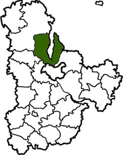 Vyshhorod Raion Subdivision of Kyiv Oblast, Ukraine
