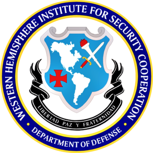 Western Hemisphere Institute for Security Cooperation - Image: WHINSEC Seal