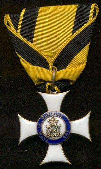Military Merit Order (Württemberg) - Image: WMV3rev