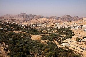 Wadi Musa - Image: Wadi Musa Valley