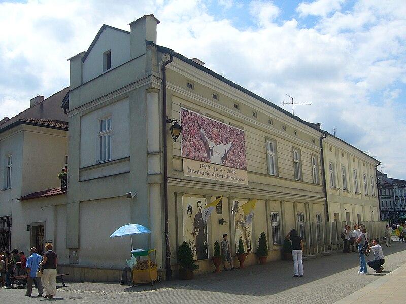 File:Wadowice, dom Jana Pawła II.jpg