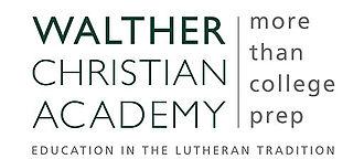 Walther Christian Academy - Image: Walther Christian Academy, More Than College Prep Logo