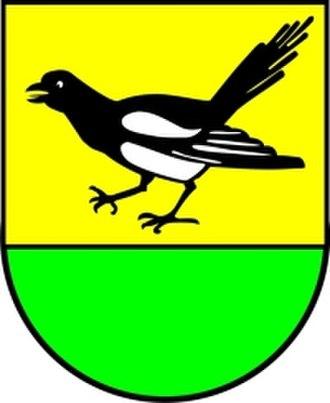 Algermissen - Image: Wappen Algermissen