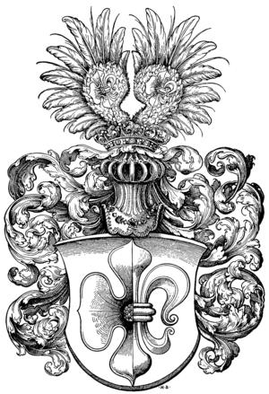 Matthäus Lang von Wellenburg - Coat of arms of Cardinal Matthäus Lang von Wellenburg