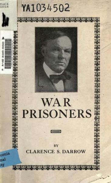 File:War Prisoners (Darrow).djvu