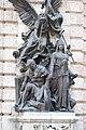 War by Károly Senyei, 2012 Budapest Hungarian mythos (17032684858).jpg