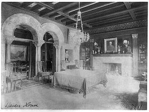 Warder Mansion - Image: Warder Diningroom Washington DC 1885 88