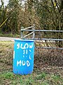 Warning sign, near Preston - geograph.org.uk - 1187726.jpg