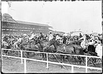 Washington Park Race Track - Washington Park Race Track, c. 1903.