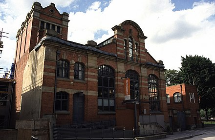 The Water Street pumping station now houses the People's History Museum Water Street Hydraulic Pump House. - geograph.org.uk - 356012.jpg