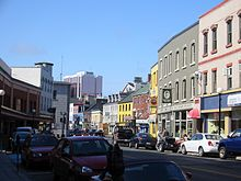 Water Street Is Notable For Its Boutiques And Restaurants