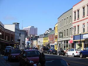 St. John's, Newfoundland and Labrador - Water Street, St. John's