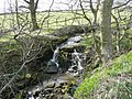 Waterfall on Glovershaw Beck, Bingley - geograph.org.uk - 762190.jpg