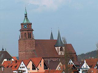 Weil der Stadt Place in Baden-Württemberg, Germany