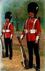 Welsh Guards by Harry Payne (1858-1927)