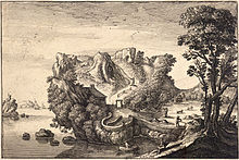 Wenceslas Hollar - Landscape shaped like a face (State 1).jpg