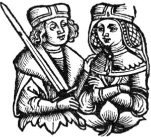 Wenceslaus II, Duke of Cieszyn - Image: Wenceslaus II of Cieszyn and Anna of Brandenburg Ansbach
