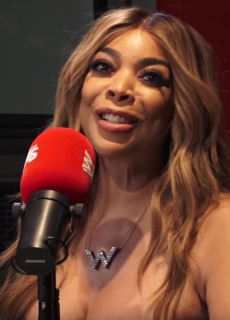 Wendy Williams American television personality and radio host