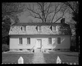 West elevation. - Wright's Chance, 119 South Commerce Street, Centreville, Queen Anne's County, MD HABS MD-1395-1.tif