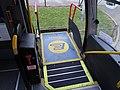 Wheelchair lift on New Enterprise Coaches Caetano Levante FJ56 PDO (8).jpg