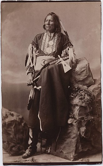 Cherokee Commission - White Eagle, Ponca chief