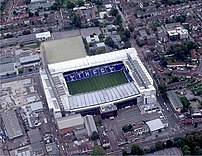 Picture of White Hart Lane home of Tottenham H...