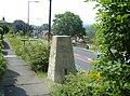 Whitecote Trig Pillar, 104m - geograph.org.uk - 199281.jpg