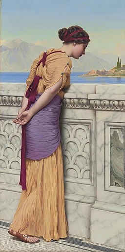 Who Can They Be, by John William Godward