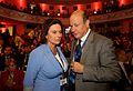 Wiceprzewodnicząca Klubu Parlamentarnego PO Małgorzata Kidawa-Błońska, Minister Finansów Jacek Rostowski (5985320880).jpg