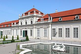 Johann Lukas von Hildebrandt - Image: Wien Unteres Belvedere (2)