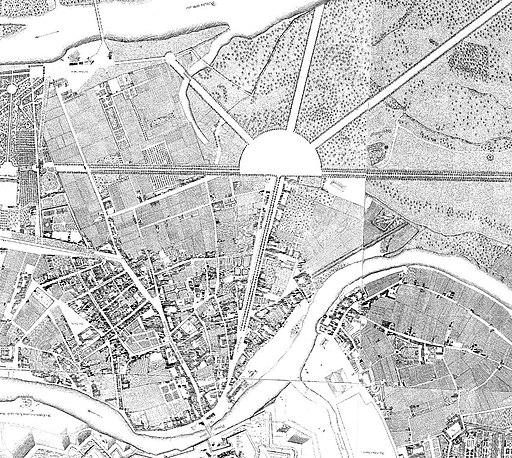 Wien 1773 Nagel Praterstern genordet