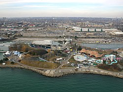 Molson Amphitheatre and Ontario Place waterpark