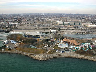 Ontario Place - Molson Amphitheatre and Ontario Place waterpark