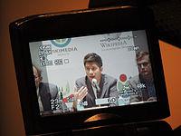 Wikimanía 2015 - Day 2 - Press Conference - LMM - México D.F. (12).jpg
