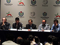 Wikimanía 2015 - Day 2 - Press Conference - LMM - México D.F. (20).jpg
