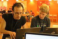 Wikimedia Hackathon 2017 IMG 4580 (34745778936).jpg