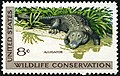 Wildlife Conservation Alligator 8c 1971 issue U.S. stamp.jpg