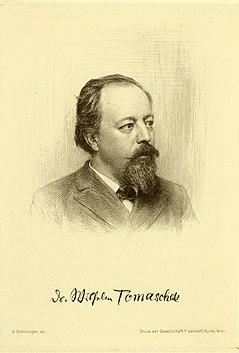 Wilhelm Tomaschek Austrian-Czech scholar