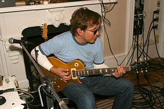 Owsley (musician) - Owsley recording in 2004.