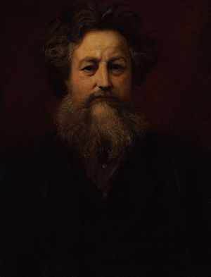 Society for the Protection of Ancient Buildings - Portrait of William Morris, founder of SPAB, by William Blake Richmond