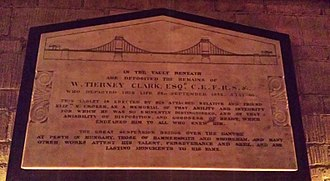 William Tierney Clark - William Tierney Clark's memorial in the local parish church of St Paul's, Hammersmith, London